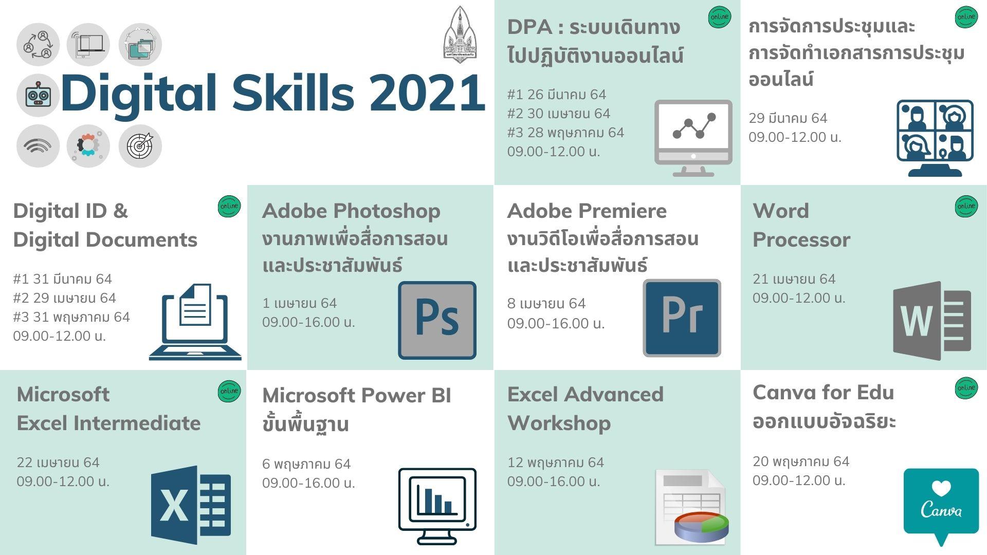 Digital Skills 2021